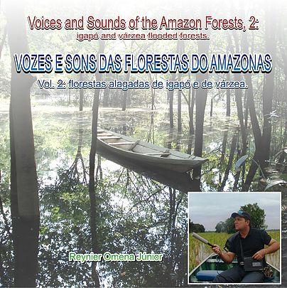 CD VOZES E SONS DAS FLORESTAS DO AMAZONAS, VOLUME 2